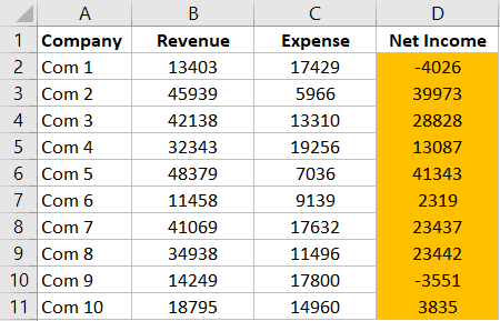 Autoformat Formulas result after using conditional formatting