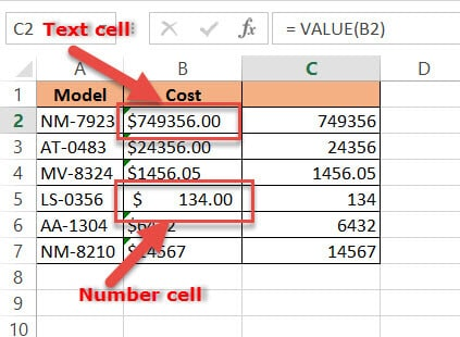 Removing Dollar Sign by Using the VALUE Function