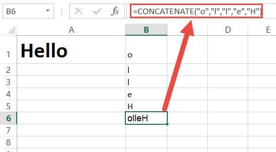 Concatenate all the alphabets