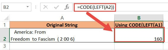 using the code function
