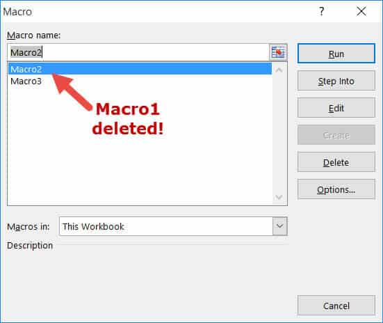 Macro1 deleted