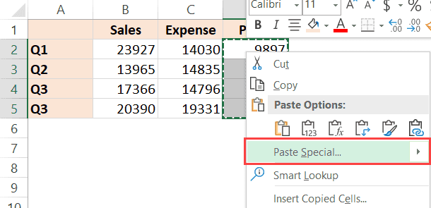 Click-on-the-Paste-Special-option