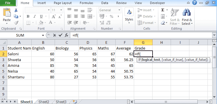 Excel-If-statement-1