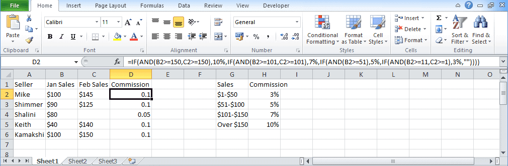 Excel-If