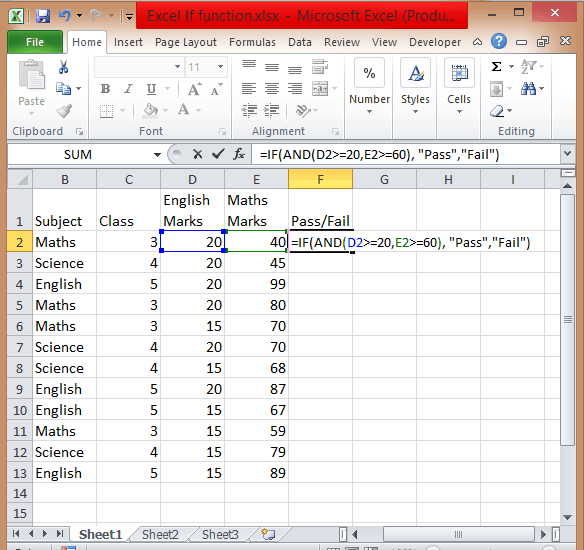Excel-if-statement-multiple-condition-range